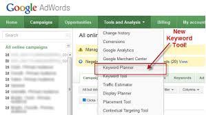 google keword planner2