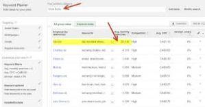google keyword planner3